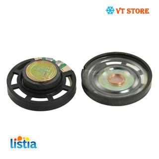 "1.1"" External Magnetic Type Round Slim Plastic Shell Speaker 8 Ohm 0.25W 2 Pcs"