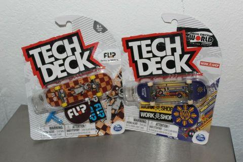 TECH DECK Finger Flip Board Toys 6+ Flip Series & Work Shop