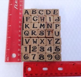 JIVE ALPHABET rubber stamp scrapbooking paper crafts card making
