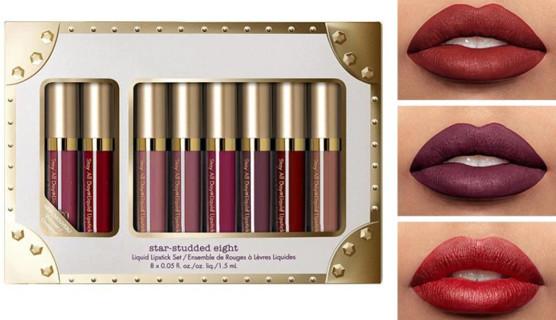 8Pcs Liquid Matte Lip Glaze Gloss Kit Waterproof Makeup Matte Lipgloss Non-sticky