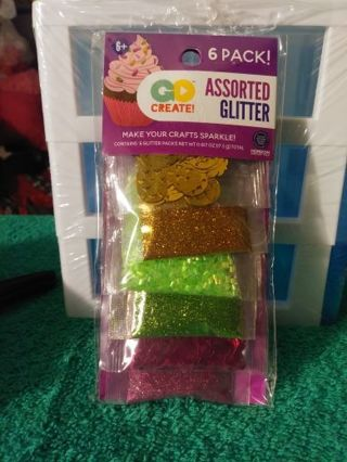 ⚛✨⚛✨⚛BRAND NEW 6-PACK OF ASSORTED GLITTER⚛✨⚛✨⚛WINNER GETS ENTIRE PACK!