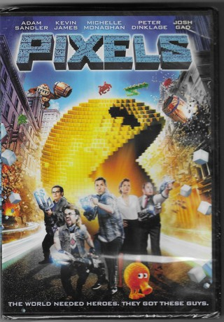Brand New Never Been Opened Pixels DVD