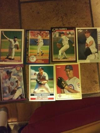7 Greg Maddux cards