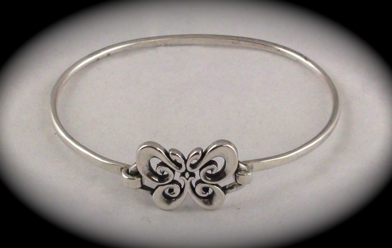 Free Gorgeous James Avery Butterfly Bracelet Hook On Closure 925 Sterling Silver Fits 6 7 Quot Bracelets Listia Com Auctions For Free Stuff