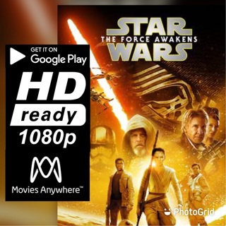 STAR WARS: THE FORCE AWAKENS HD GOOGLE PLAY CODE ONLY