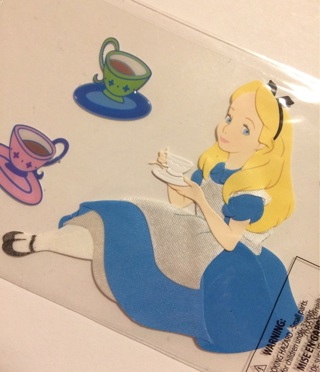 Disney Alice in Wonderland stickers