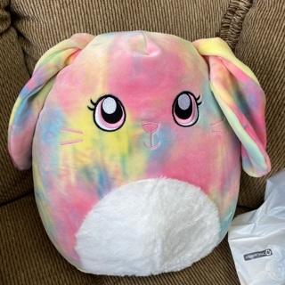 "Squishmallow Tie Dye bunny ""Candy"""