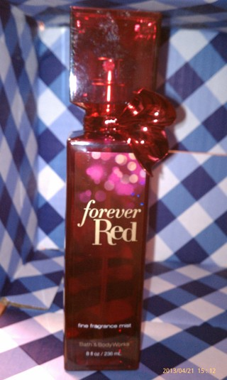 """""""Forever Red"""" ~Fine Fragrance Mist~ Full Size (8 oz.) Bath & Body Works!! *GIN option available*"""