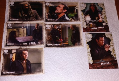WINNER PICKS 2 THE WALKING DEAD TWD TRADING CARDS!