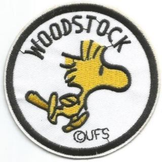 VINTAGE PEANUTS WOODSTOCK BAND IRON ON PATCH Applique embroidered FREE SHIPPING