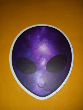 Cool big thick vinyl sticker no refunds regular mail only Very nice quality! Huge