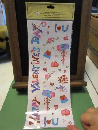 Valentine Sticker Sheets