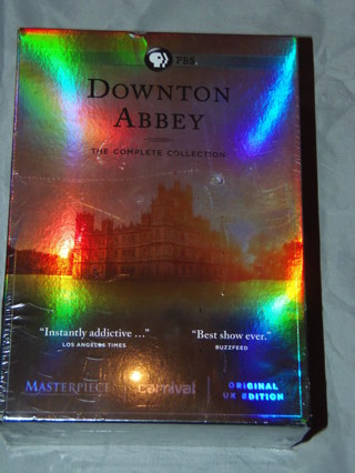 Downton Abbey PBS Tv Show FULL SERIES Complete Collection DVDs NEW Factory Sealed