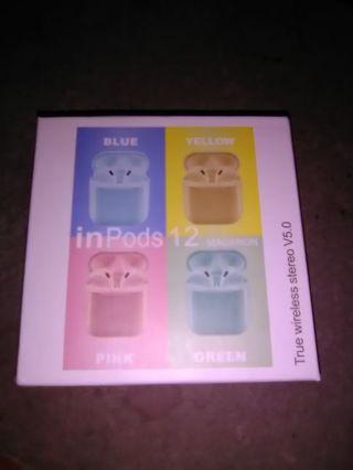 True Wireless Stereo V5.0 inPods 12 Earbuds