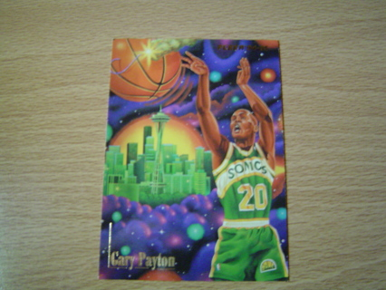 Free: Gary Payton ''Fuse Box'' Fleer 94'-95' subset card ... on