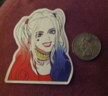 Harley Quinn Sticker/Read description before bidding