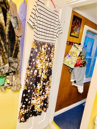Brand New Long Flower Summer Dress XXL / PLUS 1X