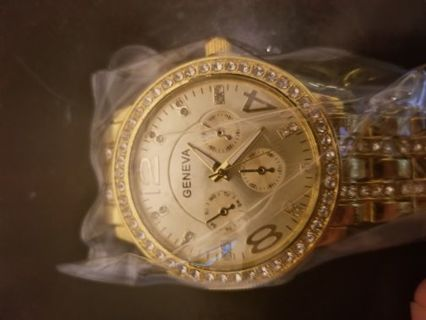 Gold Women's Luxury Watch