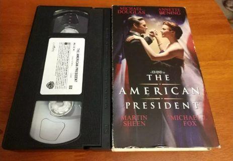 The American President VHS 1996