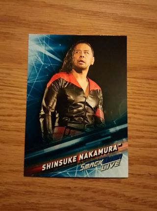WWE 2019 Smackdown Live Shinsuke Nakamura Card