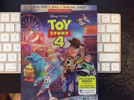 Disney Toy Story 4 Digital Movie Code... Plus Disneymovierewards Auction