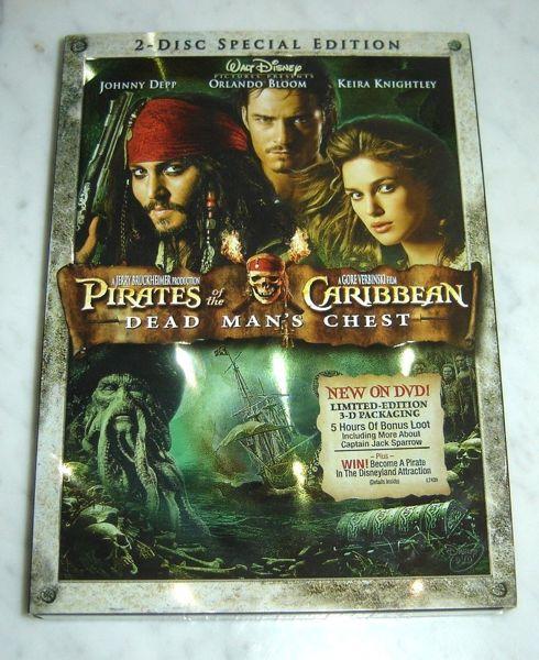 Disney Doppelgangers Pirates Edition: Free: DISNEY Pirates Of The Caribbean Dead Man's Chest