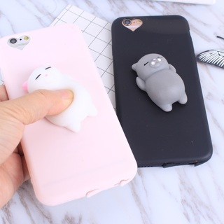 Cat Soft Phone Case for iPhone 5s SE 6 6s 7 8 Plus