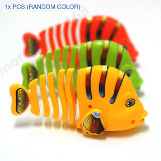 Hot Clockwork Fish Toy Wind Up Toys Development Education Gift for kids Children