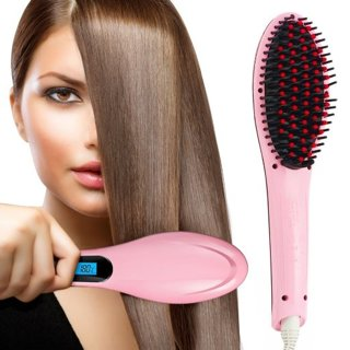 ☆ ~ Brand New ~ New Version Hair Straightening Brush ~ ☆ MANY GINNED ~ ☆