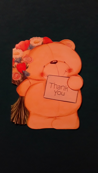 Thank You Notecard - Bear