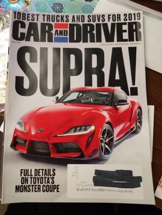 Car and Driver Magazine February 2019