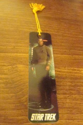 Captain Kirk Bookmark Star Trek William Shatner
