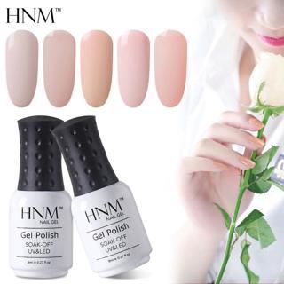 HNM 8ML Gel Varnish UV LED Light Color Nail Gel Stamping Nail Art Paint Gel Nail Polish Hybrid Var