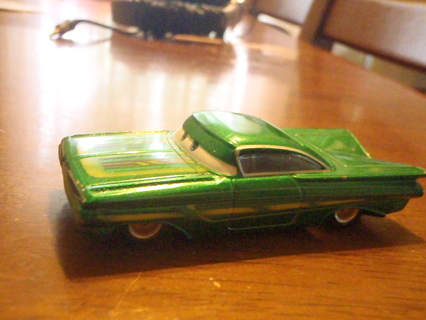 Free 1 Green Car Romone Character From The Movie Cars Excellent Condition Cars Trains Listia Com Auctions For Free Stuff