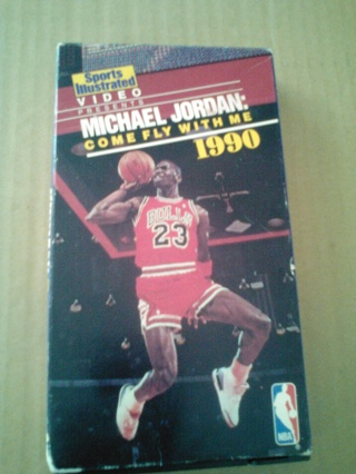 CLASSIC :MICHAEL JORDAN: Come Fly With Me,1990 VHS