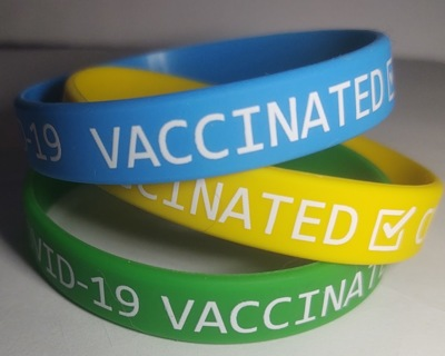 COVID 19 Vaccinated Bracelet