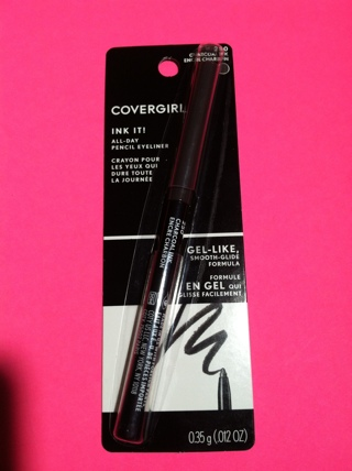 **~ New Covergirl gel crayon Charcoal Ink eyeliner ~**