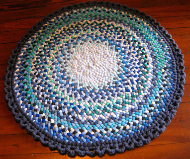 Rag Rugs Rug Braiding Instructions Patterns Included If Gin Is Used