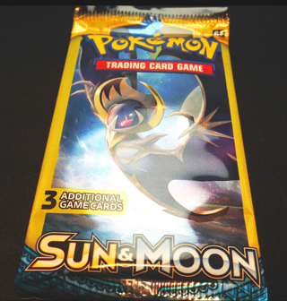 NEW Pokemon XY SUN & MOON Card Pack TCG Pokemon Cards Lunala Booster Pack Hobby Collectible