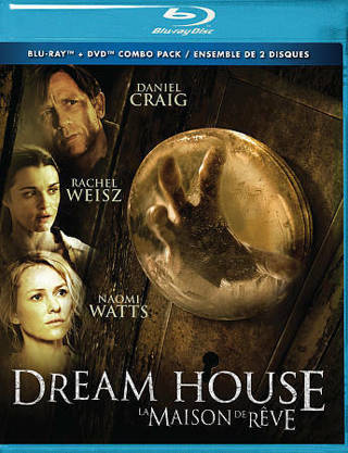 2012 DREAM HOUSE Blu-ray + DVD Combo Pack Movie English or French-Naomi Watts-New & Sealed