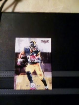 LE'VEON BELL PITTSBURGH STEELERS TOPPS FIRE