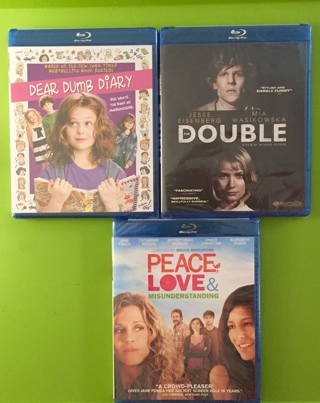 New 3 Blu-ray's Jane Fonda, Emily Alyn Lind, Jesse Eisenberg