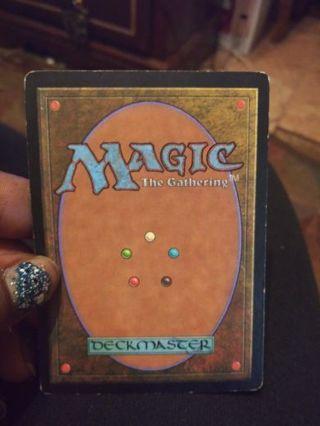 Magic The Gathering Card (1)