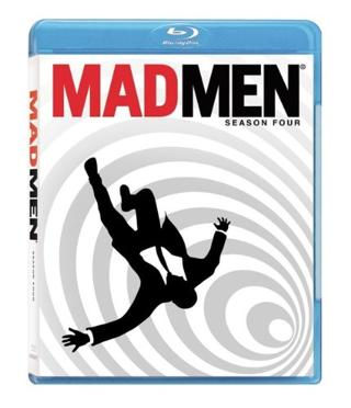 Mad Men: Season 4 Blu-ray - SET OF 3 BLU RAY DISCS - FREE SHIPPING