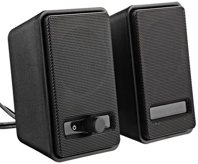 1 NEW USB-Powered Computer Speakers Set for Laptop PC Desktop FREE SHIPPING
