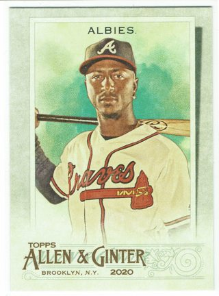 Ozzie Albies 2020 Allen & Ginter's Atlanta Braves