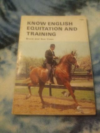 Know English Equitation and Training Book