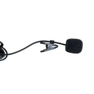 3.5mm Jack Clip-on Lapel Mini Lavalier Microphone Mic For Laptop SmartPhone New