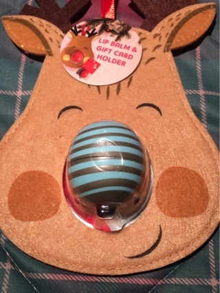 Lip Balm and Reindeer Gift Card Holdet