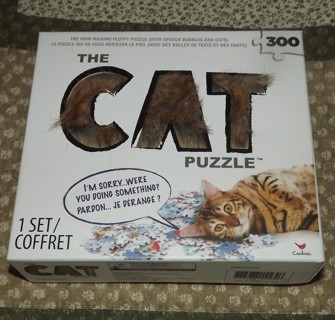 The Cat Puzzle Cardinal The Hair Raising Fluffy Puzzle
